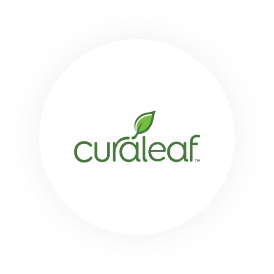 Logo of Curaleaf